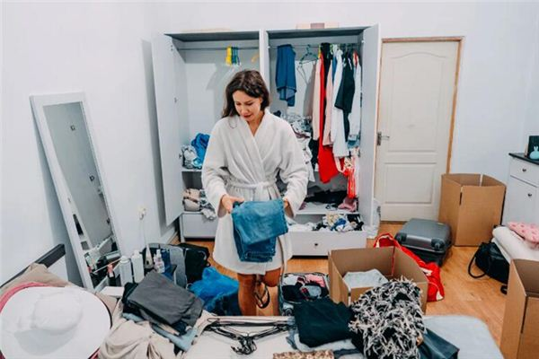 What's mean of dream of clean up things?|Dream of packing.