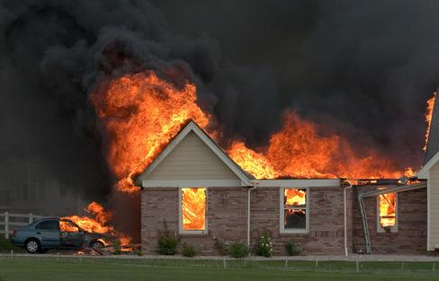 What Does It Mean to Dream of A House on Fire?