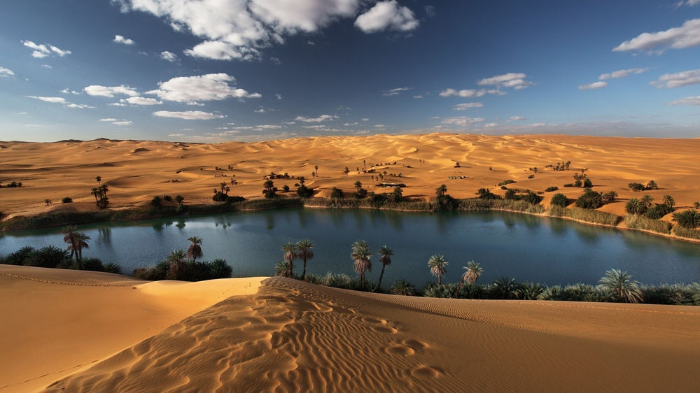 What Does It Mean to Dream of An Oasis?-Dreams Interpretation Online